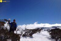 Fefe雪山perisher.