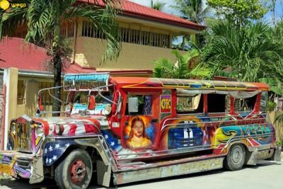 菲律賓三大交通工具吉普尼-jeepney