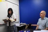 Wego維格遊學-參訪曼谷商業管理學院-曼谷語言學校BSM-一對一英語教學
