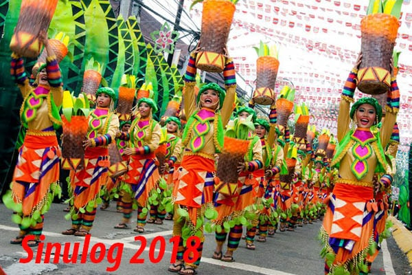 宿霧聖嬰節嘉年華Sinulog Festival in Cebu